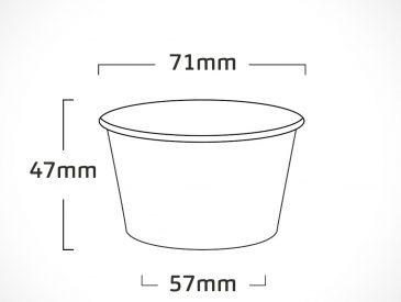 pote LISO – NATURAL – 100ml