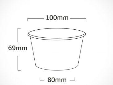 pote LISO – NATURAL – 250ml